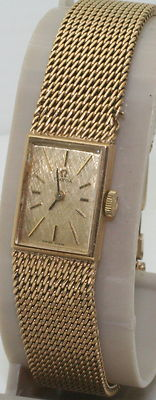 Stunning Vintage Ladies Solid 9K Gold Omega Cocktail Watch